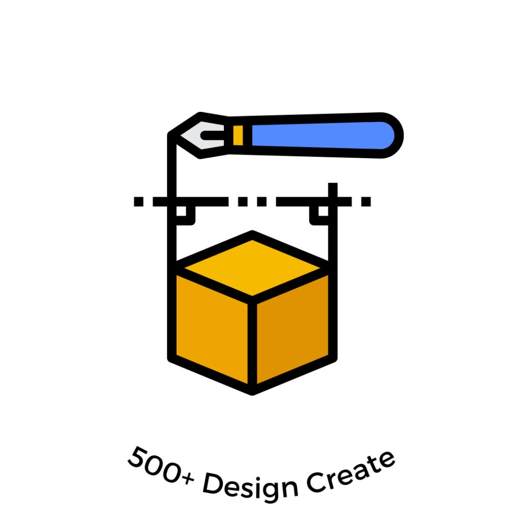 500 desain grafis